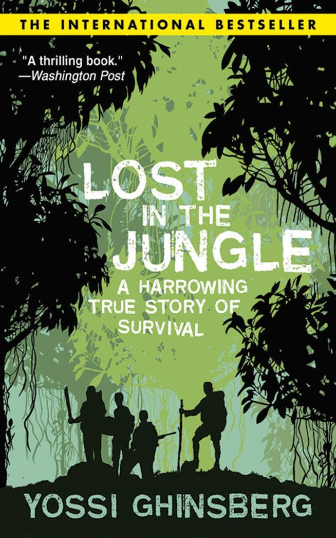 la copertina verde di Lost in the jungle