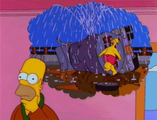 Homer Simpson e la sua idea di felicità