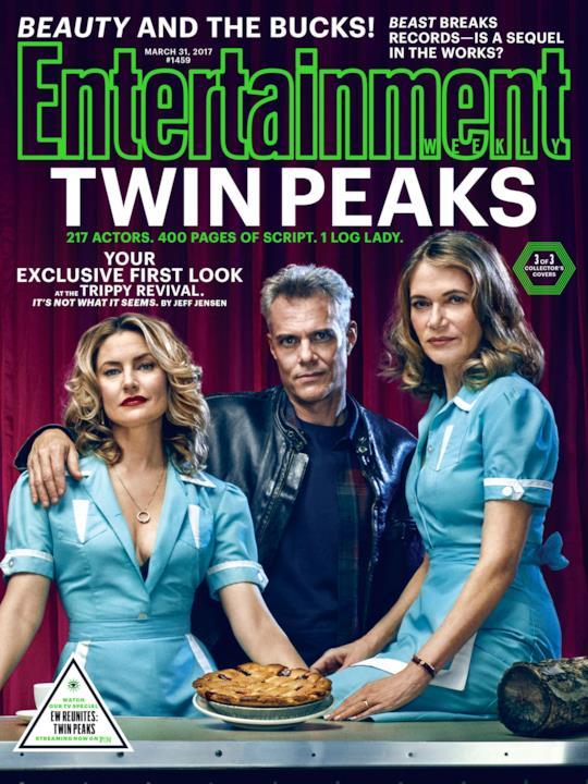 Tre degli attori di Twin Peaks