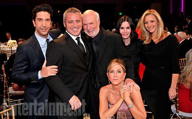 L'evento dedicato a James Burrows con il cast di Friends di nuovo insieme