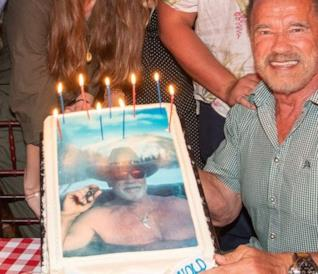 Arnold Schwarzenegger, attore ed ex governatore della California