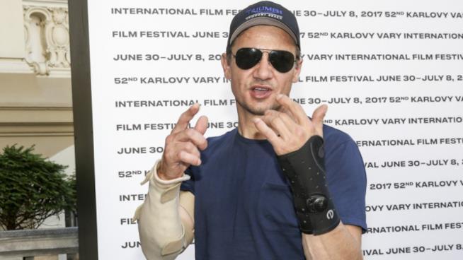 Jeremy Renner al Karlovy Vary Film Festival
