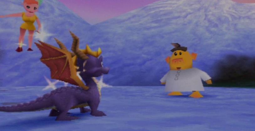 Colossus così com'era in Spyro 2