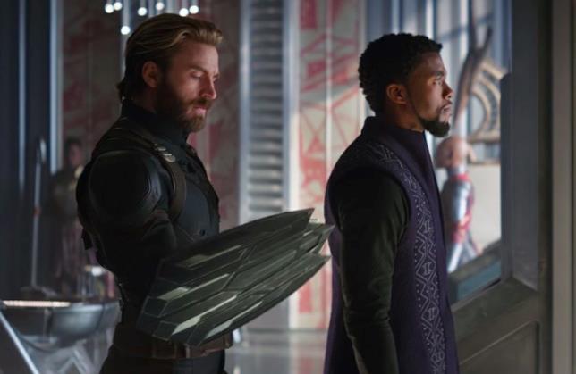 Lo scudo wakandiano di Captain America