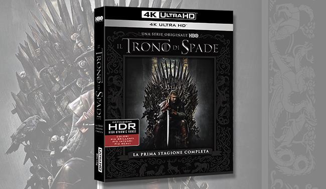 Il cofanetto di Game of Thrones in 4K ultra HD