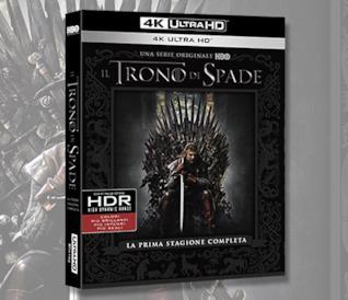 Il Trono di Spade, la prima stagione arriva in 4K Ultra HD