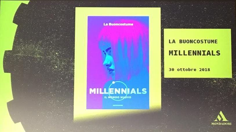 la copertina di Millenials
