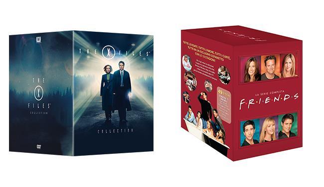Cofanetti di X-Files e Friends per l'Amazon Prime Day