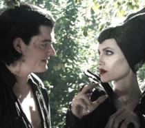 Fosco e Maleficent nel live-action Disney