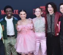 Il giovane cast di Stranger Things