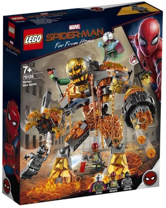 Prima immagine trapelata del set LEGO Molten Man Battle