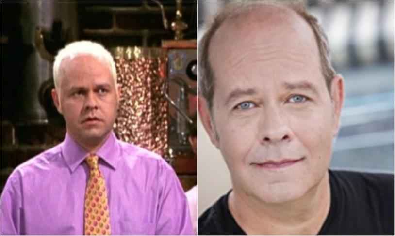 Collage tra Gunther e James Michael Tyler