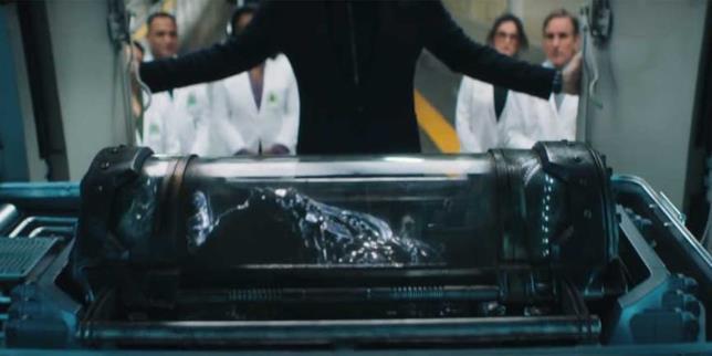 Ecco il simbionte alieno nel trailer di Venom