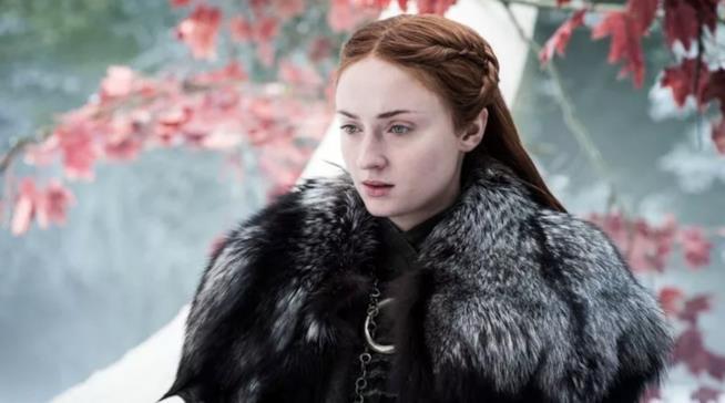 Sophie Turner nei panni di Sansa Stark in Game of Thrones
