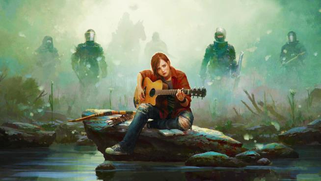 Un artwork di Ellie nel possibile The Last of Us 2
