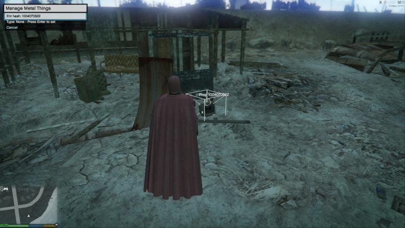La GTA V Magneto Mod in azione