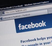 Pagina d'accesso a Facebook