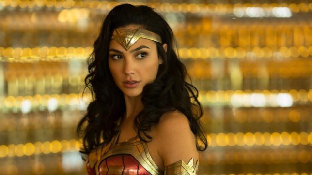 Primo piano di Wonder Woman in un'immagine del sequel