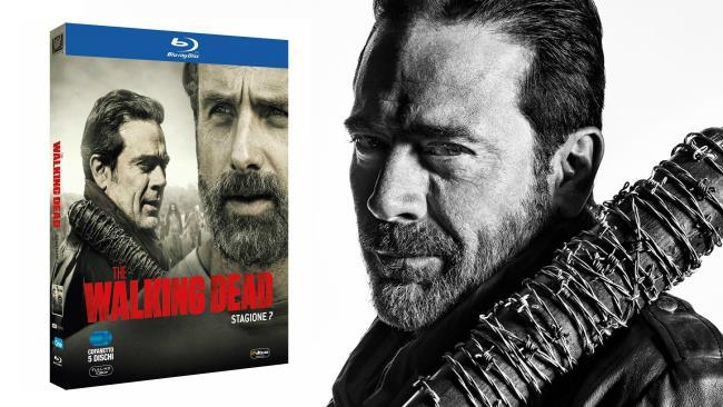 Negan assieme al cofanetto Blu-ray di The Walking Dead 7