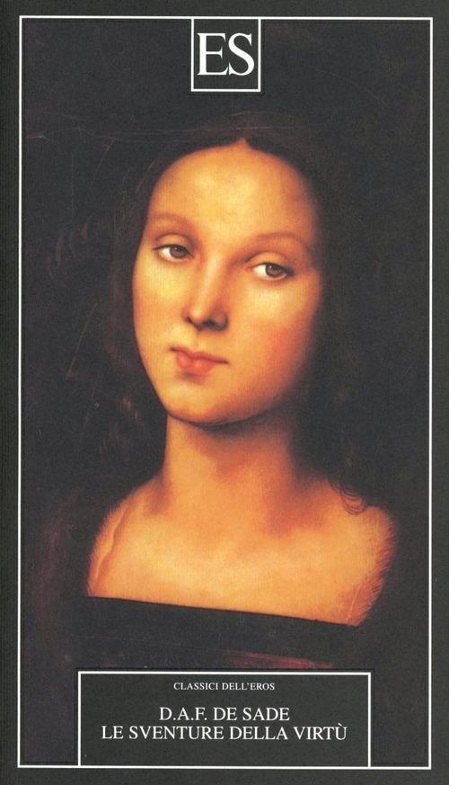 La copertina del romanzo le sventure della virtù