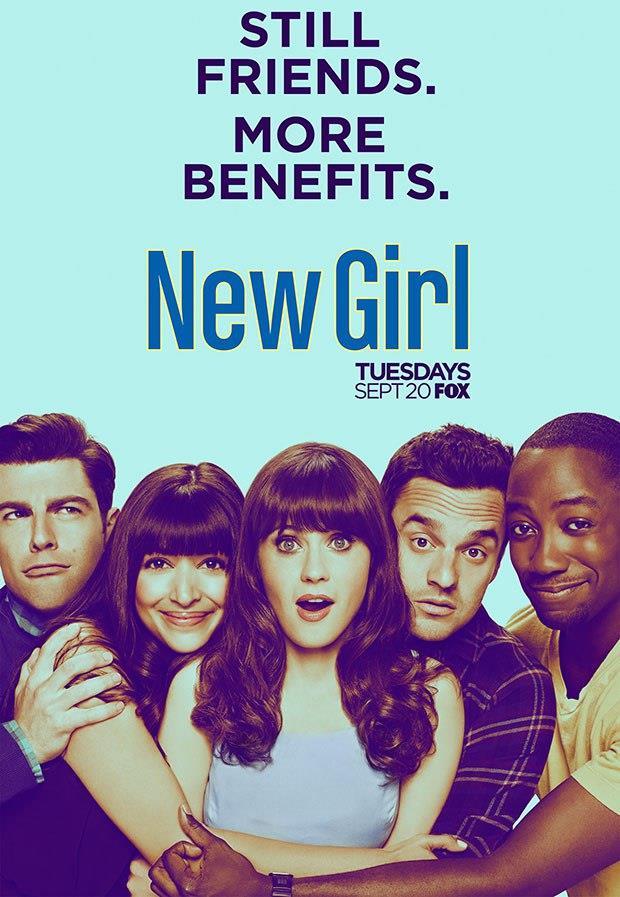 Il poster della stagione 6 di New Girl