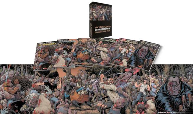 Packshot di The Walking Dead Collector's Pack sui Sussurratori
