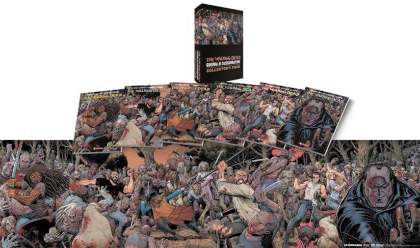 Packshot di The Walking Dead Collector's Pack sui Sussurratori