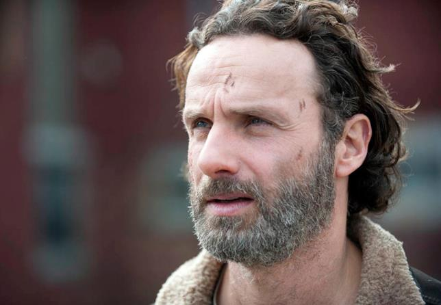Rick nella serie TV The Walking Dead
