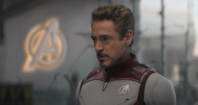 Robert Downey Jr. come Iron Man in Avengers: Endgame