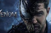 Tom Hardy è Venom in uno dei poster promozionali per il film