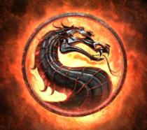 L'iconico logo di Mortal Kombat
