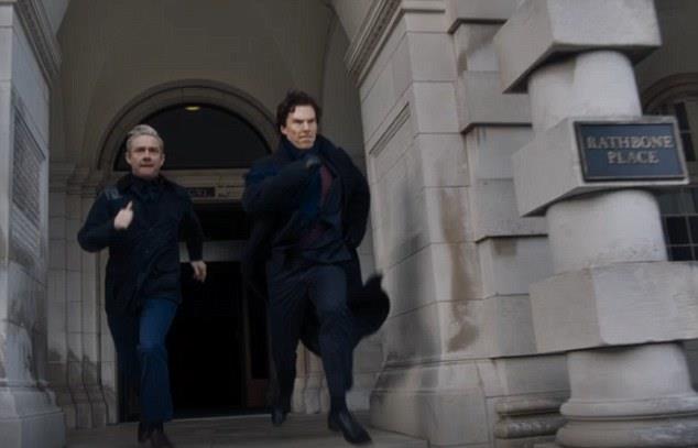 Benedict Cumberbatch e Martin Freeman