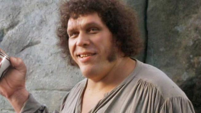 Il wrestler e atore francese André The Giant