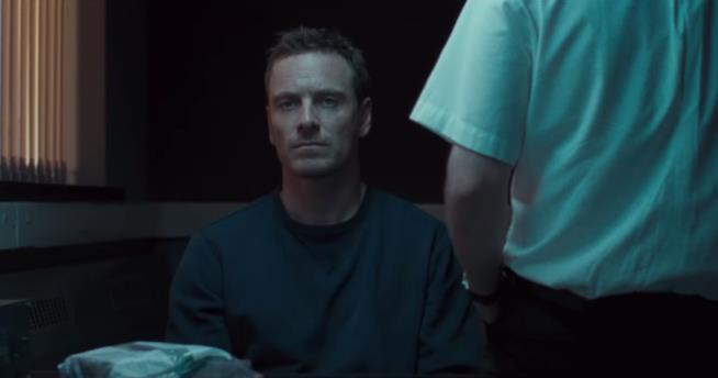 Michael Fassbender in una scena del film Codice Criminale