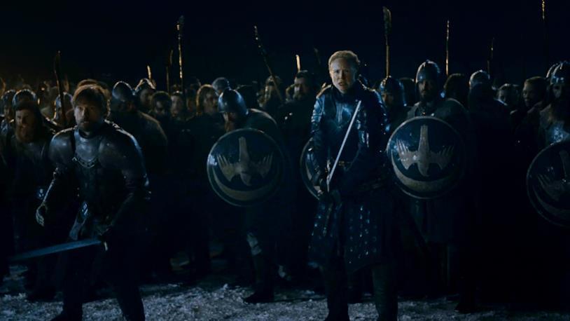 GoT 8x03: l'esercito schierato fuori da Grande Inverno