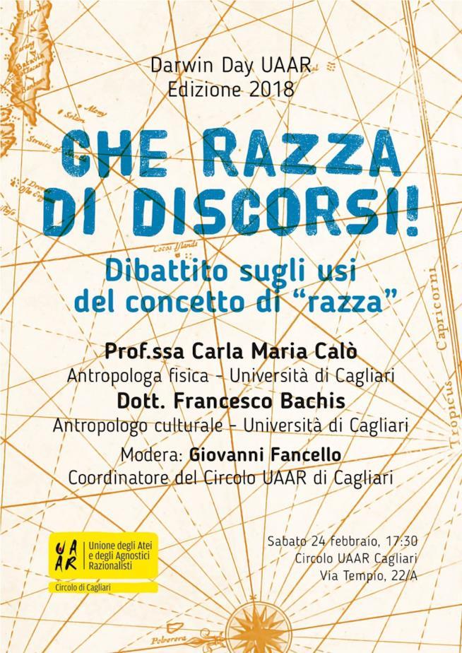L'evento del Darwin Day a Cagliari
