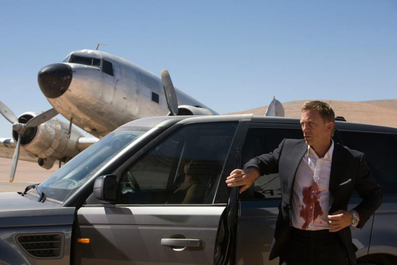 Daniel Craig in una scena del film