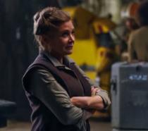 Carrie Fisher in Il Risveglio della Forza