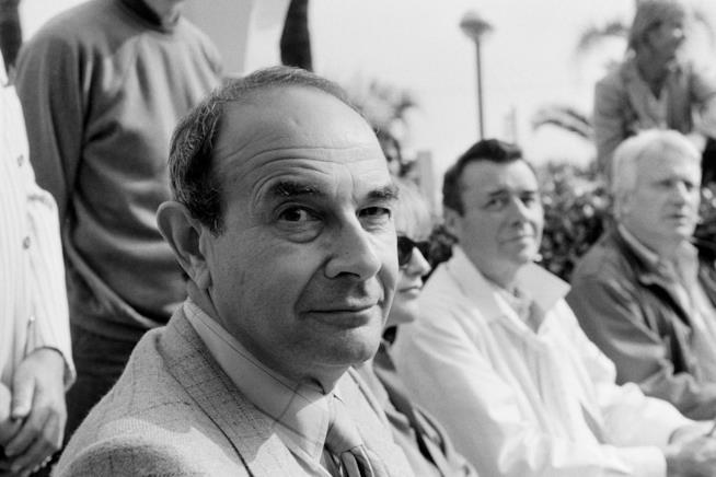 Il regista Stanley Donen