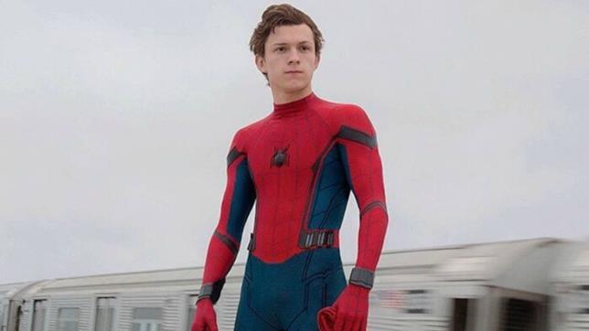 Tom Holland in una scena tratta dal primo Spider-Man: Homecoming
