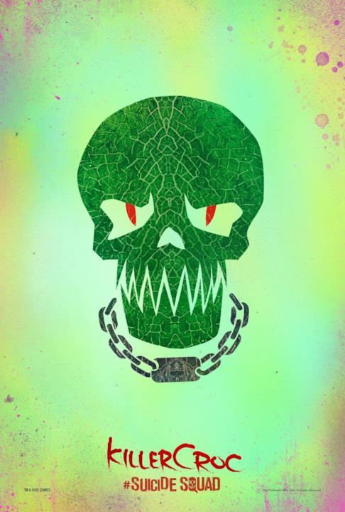 Poster di Killer Croc in Suicide Squad