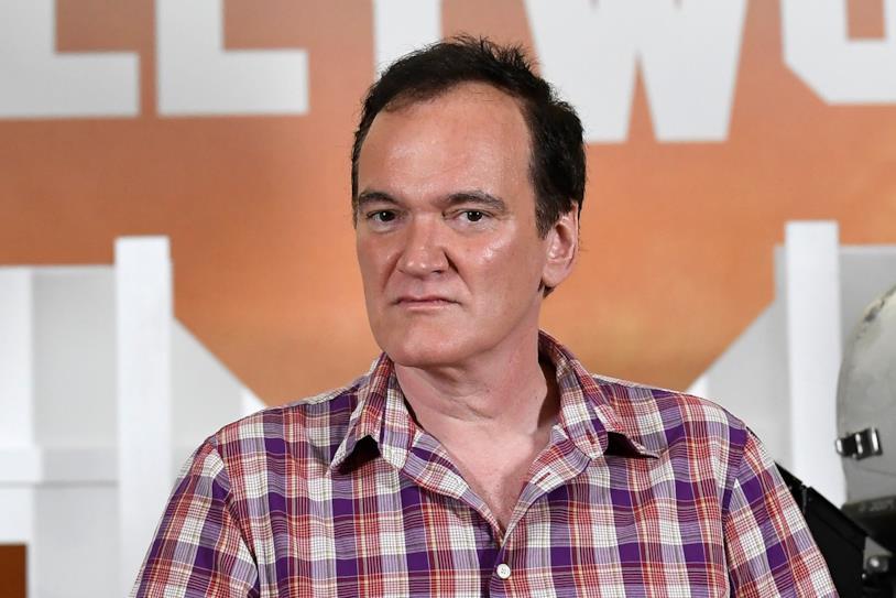 Il regista Quetin Tarantino