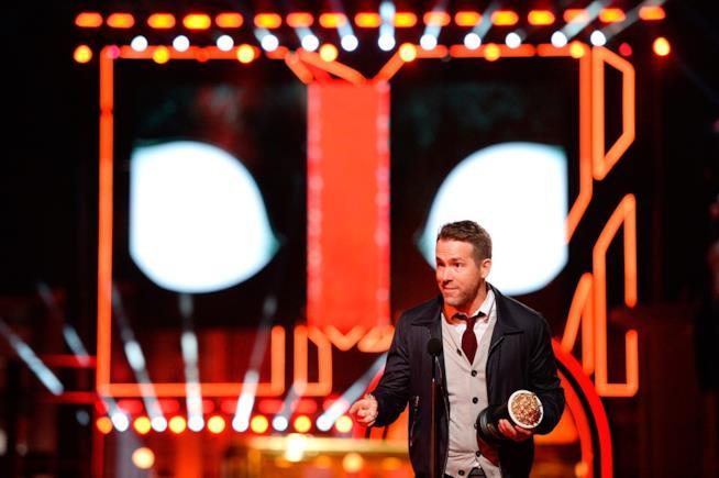 Ryan Reynolds agli MTV Movie Awards 2016