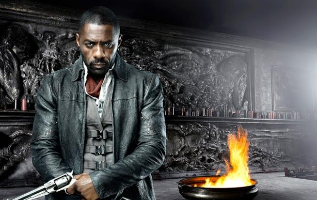 La Torre Nera il poster con Idris Elba