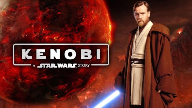 Un fan poster decisamente prematuro del film che dovrebbe essere dedicato a Obi-Wan Kenobi