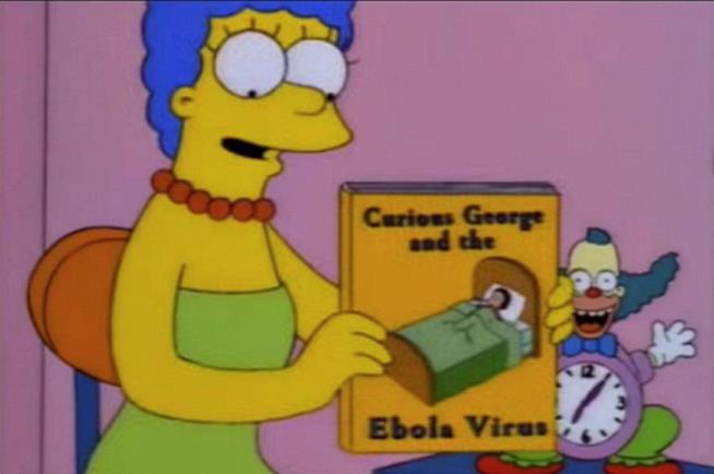 I Simpson avevano predetto il virus Ebola