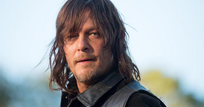 Daryl Dixon nell'episodio 14 della sesta stagione di The Walking Dead