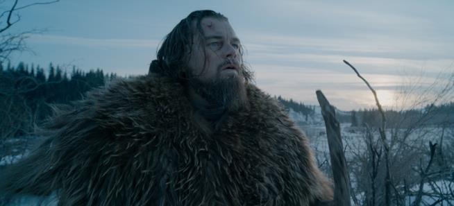 Leonardo DiCaprio è Hug Glass nel film Revenant - Redivivo