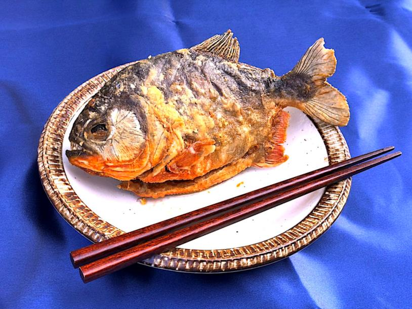 Piranha topping