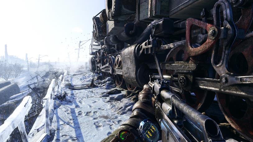 Un'immagine di gioco da Metro Exodus